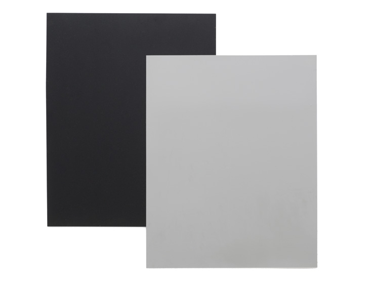 Black and gray vinyl dance floor