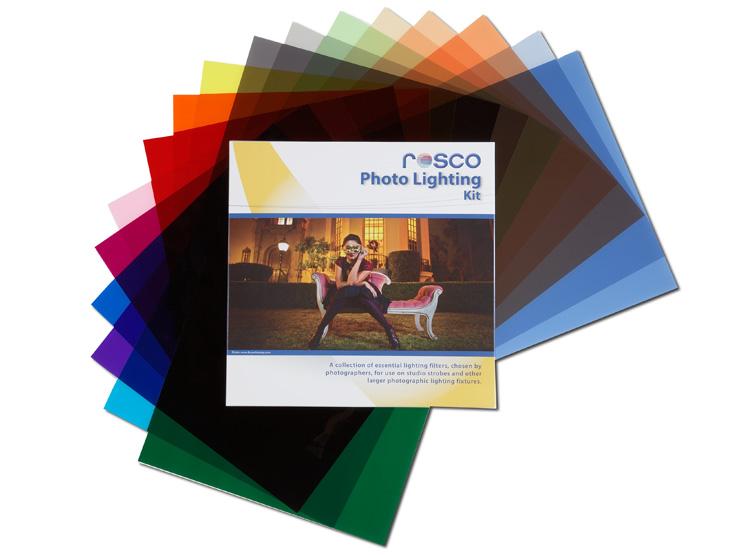 Photo lighting filter kit rosco