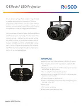 X-Effects® LED Projector