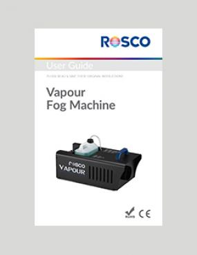 Rosco - Rosco Vapour Fog Machine Manual